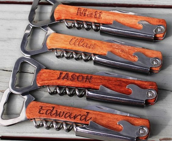 engraveable corkscrews